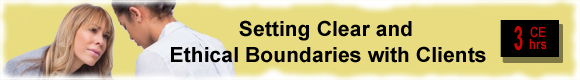 counselor ethical boundaries and principles In this lesson, we will be looking at the ethical issues a new counselor should be familiar with and prepared to handle these issues include.