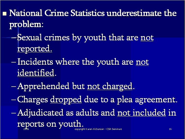 Internet sex crimes statistics