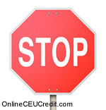 Transference Thoughts stop sign Treating Childhood Sexual Trauma psychology continuing education