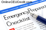 Emergency Preparedness checklist Children Coping with Terrorism psychology continuing ed