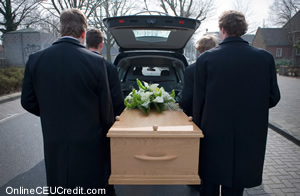 Funeral Helping Parents with Grieving Children counselor CEU