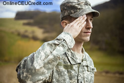 military Ethically Treating PTSD social work continuing ed