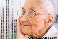 elder anxiety Anxiety social work continuing ed