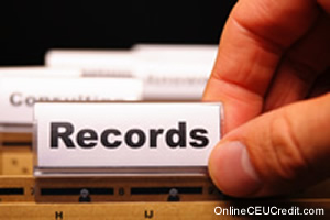 records and documents Ethical Boundaries social work continuing ed