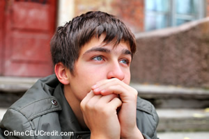 Male Depression Fear of Feelings Treating counselor CEU course