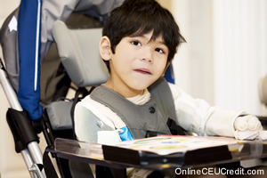 Cerebral Palsy Play Therapy counselor CEU course