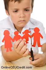pain children of divorce Separation Counseling psychology continuing ed