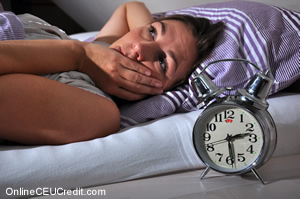Insomnia Behavioral Interventions for Night Terrors counselor CEU