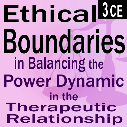 legal ethical boundaries The following areas: professionalism, legal and ethical requirements, confidentiality, business practices, roles and boundaries, and prevention of sexual.