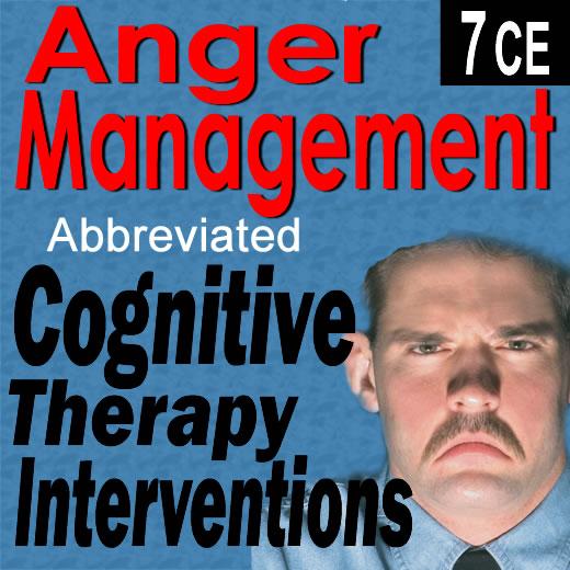 Anger Management: Answer Booklet Anger Management: Cognitive