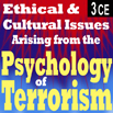 Ethical and Cultural Issues Arising from the Psychology of Terrorism