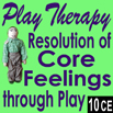 DVD - Play Therapy Techniques: Resolution of Core Feelings Through Play - 10 CEs